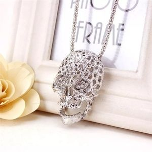 Jewelry - 🆕Silver Plated Sugar Skull Chain